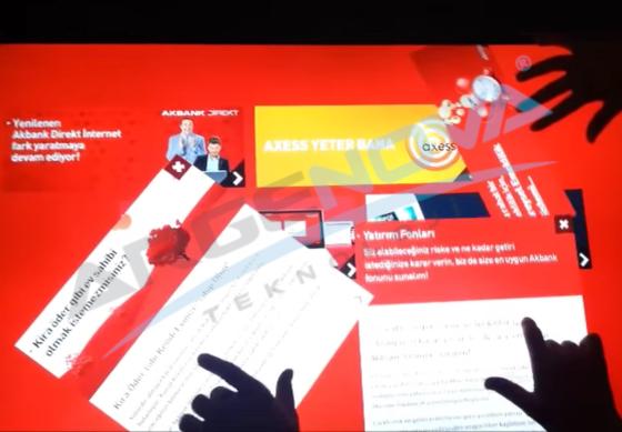 Başarı Hikayesi : AKBANK Multitouch Masa